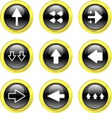 Arrow icons Royalty Free Stock Image
