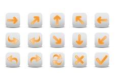 Arrow icons Stock Image