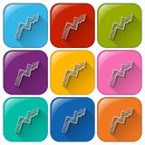 Arrow icons Stock Photo