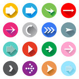 Arrow icons Royalty Free Stock Photo
