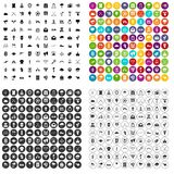100 arrow icons set variant. 100 arrow icons set in 4 variant for any web design isolated on white Royalty Free Illustration