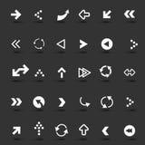 Arrow Icons Set Royalty Free Stock Image