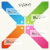 Arrow Infographic Elements Stock Photography