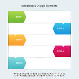 Arrow Infographic Elements Royalty Free Stock Images