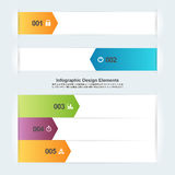 Arrow Infographic Elements Royalty Free Stock Photos