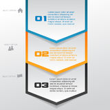 Arrow Infographic Template Stock Images