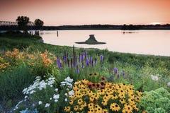 Arrow Island on Mississippi Stock Photos