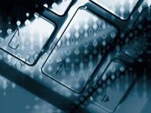 Arrow key abstract Stock Image