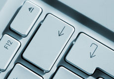 Arrow keys Stock Photography