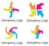 Arrow logo Royalty Free Stock Photography