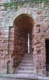 Arrow loop, Kenilworth Castle details in England Stock Photo