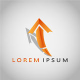 ARROW LOREM IPSUM 2017 3 royalty free stock images