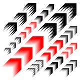 Arrow motion line simple symbol Stock Photography