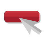 Arrow mouse pointer icon. Vector illustration design Royalty Free Stock Image