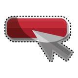 Arrow mouse pointer icon. Vector illustration design Stock Photos