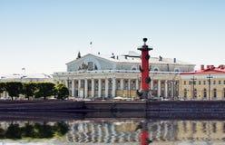 Free Arrow Of Vasilevsky Island In St. Petersburg Royalty Free Stock Image - 26033876