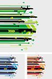 Arrow pattern Stock Images