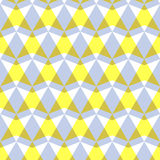 Arrow pattern. Including seamless sample in swatch panel Stock Photos