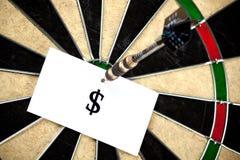 Arrow perfect hit in $ Stock Photos