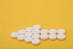 Arrow of Pills Stock Image