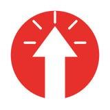 Arrow pointer isolated icon Stock Image