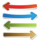 Arrow pointers Stock Image