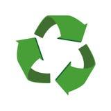 Arrow recycle circle organic ecology icon. Vector graphic Stock Photo
