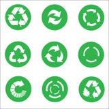 Arrow recycle icon set vector Royalty Free Stock Photos