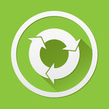 Arrow Refresh icon great for any use. Vector EPS10. Royalty Free Stock Photography