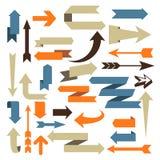 Arrow Set - Set of arrow designs Royalty Free Stock Image