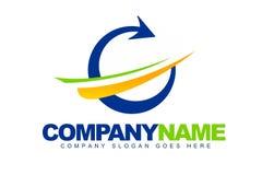 Arrow Shapes Logo Stock Image