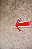 Arrow sign Royalty Free Stock Photo