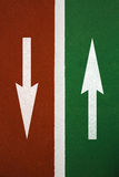 Arrow sign Royalty Free Stock Images