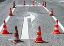 Arrow sign Royalty Free Stock Photography