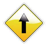 Arrow signal Royalty Free Stock Photo