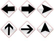 Arrow signs Stock Photos