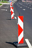 Arrow signs at the road crossing Stock Photography