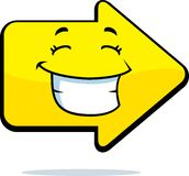 Arrow Smiling Royalty Free Stock Images