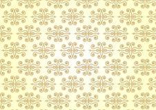 Arrow Spiral Retro Seamless Pattern on Pastel Color Stock Photo
