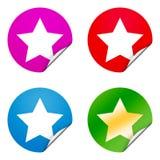 Arrow sticker Royalty Free Stock Image