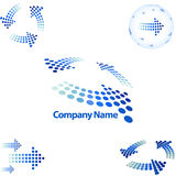 Arrow style logo. Arrow style for corporate identity Stock Image