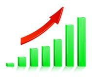 Arrow success Royalty Free Stock Image