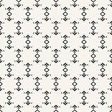 Arrow symbol abstract seamless pattern monochrome or two colors. Vector Stock Photo