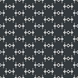 Arrow symbol abstract seamless pattern monochrome or two colors. Vector Royalty Free Stock Photos