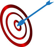 Arrow Target Royalty Free Stock Photos