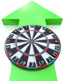 Arrow and Target Stock Photography