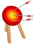 Arrow target Royalty Free Stock Images