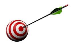 Arrow and target Stock Photo