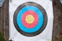 Arrow target paper Stock Image