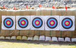 Arrow target for training abstract background. Arrow target for training in north thailand abstract background royalty free stock image